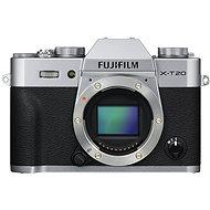 Fujifilm X-T20 tělo stříbrný - Digitální fotoaparát