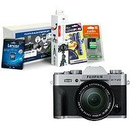 Fujifilm X-T20 stříbrný + XC16-50mm F3.5-5.6 OIS II + Fujifilm Foto Starter Kit - Digitální fotoaparát
