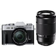 Fujifilm X-T20 stříbrný + XC16-50mm F3.5-5.6 OIS II + XC50-230mm F4.5-6.7 OIS II - Digitální fotoaparát
