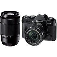 Fujifilm X-T20 černý + XC16-50mm F3.5-5.6 OIS II + XC50-230mm F4.5-6.7 OIS II - Digitální fotoaparát