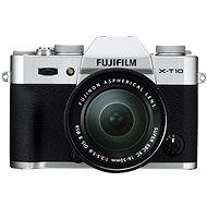 Fujifilm X-T10 Silver + objektiv XC16-50mm - Digitální fotoaparát