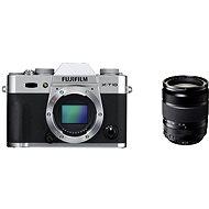 Fujifilm X-T10 Silver + objektiv XF18-135mm - Digitální fotoaparát