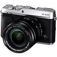 Fujifilm X-E3 stříbrný + XF 18-55mm - Digitální fotoaparát