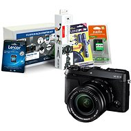 Fujifilm X-E3 černý + XF 18-55mm + Fujifilm Foto Starter Kit - Digitální fotoaparát