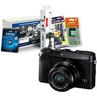 Fujifilm X-E3 černý + XF 23mm + Fujifilm Foto Starter Kit - Digitální fotoaparát