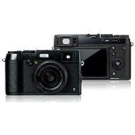Fujifilm X100T Black + černé kožené pouzdro  - Digitální fotoaparát