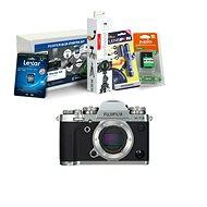 Fujifilm X-T3 tělo stříbrný + Fujifilm Foto Starter Kit - Digitální fotoaparát