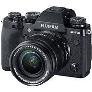 Fujifilm X-T3 černý + XF 18-55 mm R LM OIS - Digitální fotoaparát