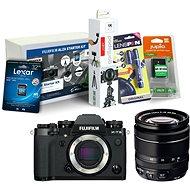 Fujifilm X-T3 černý + XF 18-55 mm R LM OIS + Fujifilm Foto Starter Kit - Digitální fotoaparát