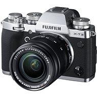 Fujifilm X-T3 stříbrný + XF 18-55 mm R LM OIS - Digitální fotoaparát