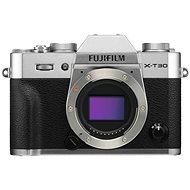 Fujifilm X-T30 tělo stříbrný - Digitální fotoaparát
