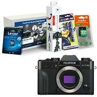 Fujifilm X-T30 tělo černý + Fujifilm Foto Starter Kit - Digitální fotoaparát