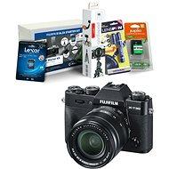 Fujifilm X-T30 černý + XF 18-55mm + Fujifilm Foto Starter Kit - Digitální fotoaparát