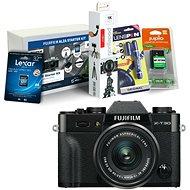 Fujifilm X-T30 černý + XC 15-45mm + Fujifilm Foto Starter Kit - Digitální fotoaparát
