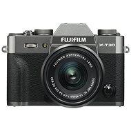 Fujifilm X-T30 šedý + XC 15-45mm - Digitální fotoaparát