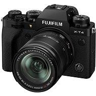 Fujifilm X-T4 + 18-55 mm černý - Digitální fotoaparát