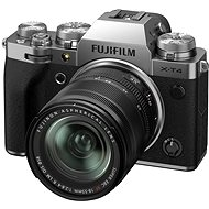 Fujifilm X-T4 + 18-55 mm stříbrný - Digitální fotoaparát