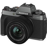 Fujifilm X-T200 + 15-45 mm tmavě stříbrný - Digitální fotoaparát