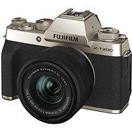 Fujifilm X-T200 + 15-45 mm zlatý - Digitální fotoaparát
