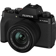 Fujifilm X-T200 + 15-45 mm black - Digital Camera