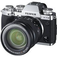 Fujifilm X-T3 + 16-80 mm stříbrný - Digitální fotoaparát