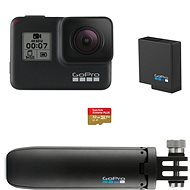 GOPRO HERO7 Black + SD karta + baterie + Shorty