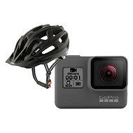 GOPRO HERO + Uvex Supersonic Cc, Black Mat S/M