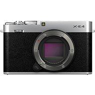 Fujifilm X-E4 tělo stříbrný - Digitální fotoaparát