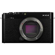Fujifilm X-E4 tělo černý - Digitální fotoaparát