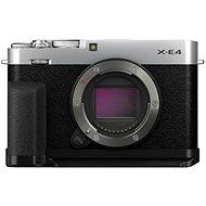 Fujifilm X-E4 tělo + Accessories Kit stříbrný - Digitální fotoaparát