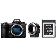 Nikon Z6 + FTZ adaptér + 64GB XQD karta - Digitální fotoaparát