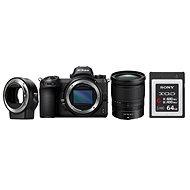 Nikon Z6 + 24-70mm+ FTZ adaptér + 64GB XQD karta - Digitální fotoaparát