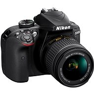 Nikon D3400 černý + 18-55mm AF-P VR - Digitální fotoaparát