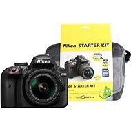 Nikon D3400 černý + 18-55mm AF-P VR + Nikon Starter Kit - Digitální fotoaparát