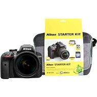 Nikon D3400 černý + 18-105mm VR + Nikon Starter Kit - Digitální fotoaparát