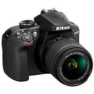 Nikon D3400 černý + 18-55mm VR + 70-300 VR + brašna + 16GB karta - Digitální fotoaparát