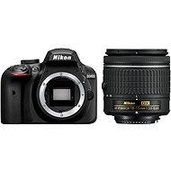Nikon D3400 černý + 18-55mm AF-P - Digitální fotoaparát