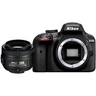 Nikon D3400 černý + 35mm DX - Digitální fotoaparát