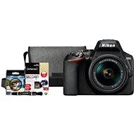 Nikon D3500 černý + 18-55mm VR + Nikon Starter Kit 55mm - 32GB - Digitální fotoaparát