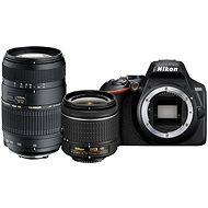 Nikon D3500 černý + 18-55mm VR + Tamron 70-300mm - Digitální fotoaparát