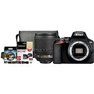 Nikon D3500 černý + 18-105mm VR + Nikon Starter Kit 67mm - 32GB - Digitální fotoaparát