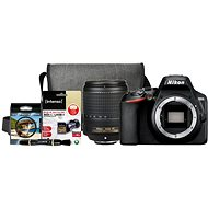 Nikon D3500 černý + 18-140mm VR + Nikon Starter Kit 67mm - 32GB - Digitální fotoaparát