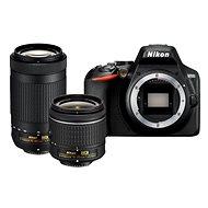 Nikon D3500 Black + 18-55mm + 70-300mm - Digital Camera