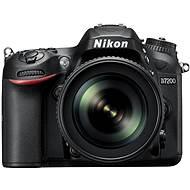 Nikon D7200 černý + objektiv 18-105 VR AF-S DX - Digitální zrcadlovka