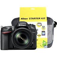 Nikon D7200 černý + objektiv 18-105 VR AF-S DX + Nikon Starter Kit - Digitální fotoaparát