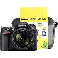 Nikon D7200 černý + objektiv 18-140 VR AF-S DX + Nikon Starter Kit - Digitální fotoaparát
