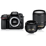 Nikon D7500 černý + objektiv 18 - 140mm + objektiv 35mm DX - Digitální fotoaparát