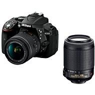 Nikon D5300 černý + 18-55mm AF-P VR + 55-200mm AF-S VR II - Digitální fotoaparát