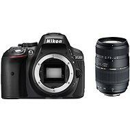 Nikon D5300 černé + TAMRON AF 70-300mm f/4.0-5.6 Di pro Nikon LD Macro 1:2 - Digitální fotoaparát