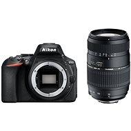 Nikon D5600 černý + TAMRON AF 70-300mm f/4.0-5.6 Di pro Nikon LD Macro 1:2 - Digitální fotoaparát